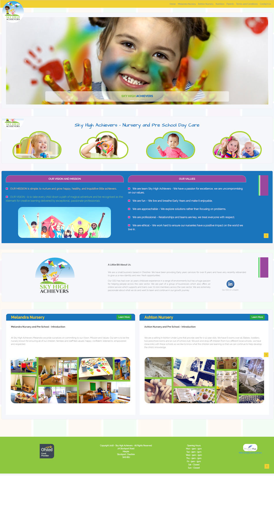 Previous work for a daycare centre.