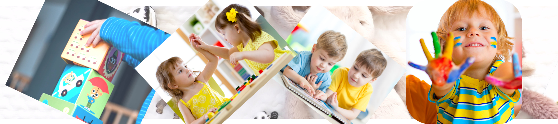 Website design choices for daycare and nursery online presence.