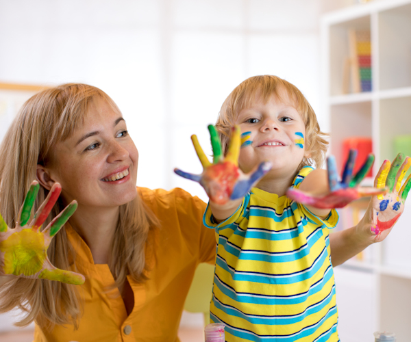We are daycare website designers, this is a sample choice image