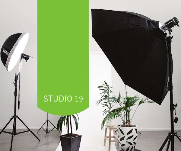 Portrait photography studio designs for photographers with a base
